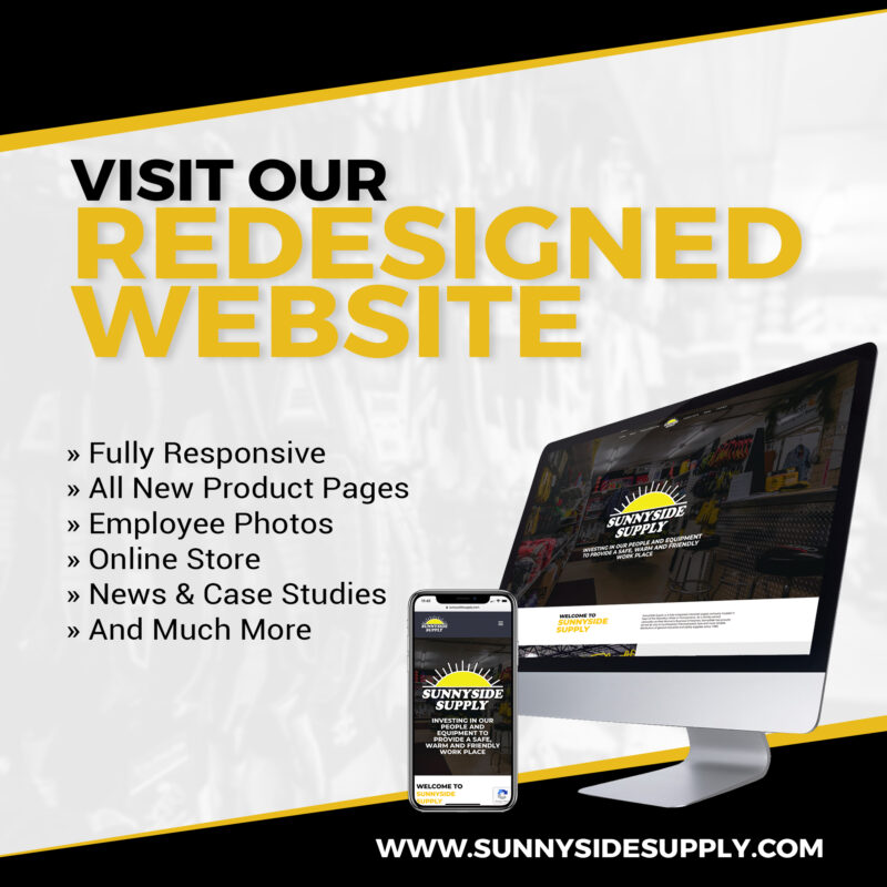 computer with new ssunnyside supply website