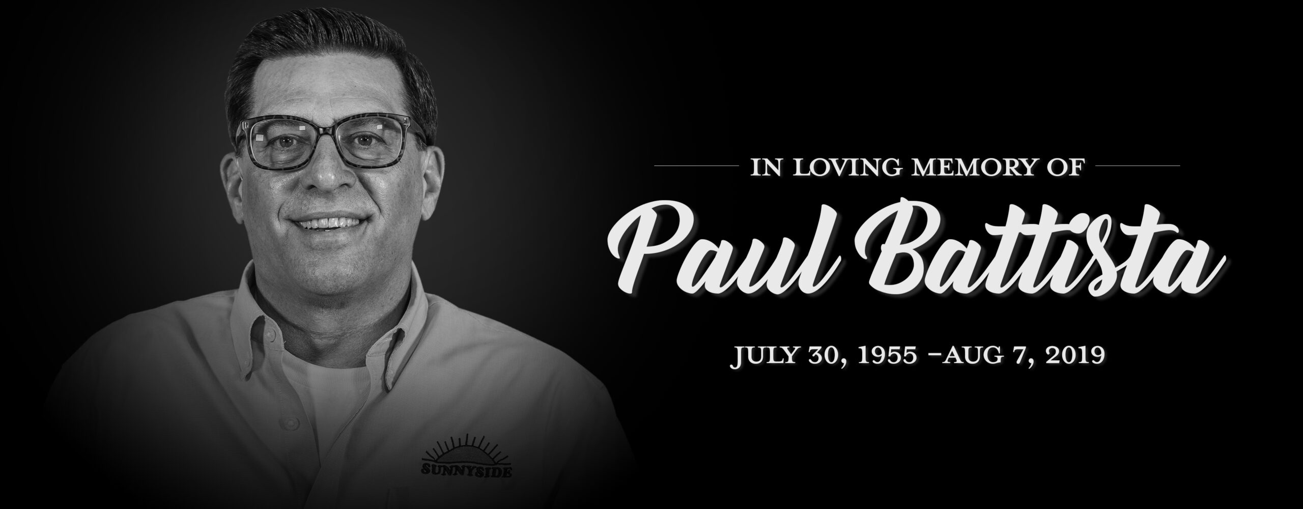 In Loving Memory of Paul Battista